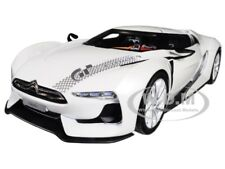 CITROEN CONCEPT GT WHITE SALON DE PARIS 2008 1/18 DIECAST MODEL BY NOREV 181610