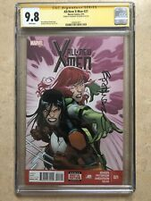 All New X-Men #21 (2014) Cgc 9.8 SS Signed Cover Done By Brandon Peterson