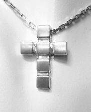 VIVENTY Collier mit Kreuz 925 Silber NEU 690552 (LP209€) Kreuzanhänger Unisex