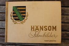 8168 Jasmatzi Zigaretten HÄNSOM Film Bilder 3 Tonfilm Serie 1931 tobacco cards