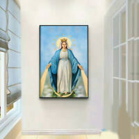 D141 Catholic Christian Holy Religion Framed Painting Picture Jesus Christ M