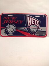 New Jersey Nets Plastic License Plate MUST L@@K