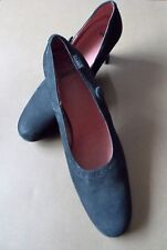 Immaculate Size 39 Camper Black Suede Leather Women's Shoes- 1 Flaw