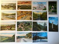 LOT OF 28 PA PENNSYLVANIA  POSTCARDS DUTCH COUNTRY COVERED BRIDGES ETC