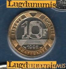 BU 1998 10 Francs Génie 1998 BU FDC Pièce Provenant du BU 25000 ex sous scellé
