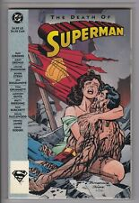 The Death of Superman (TPB) Rare 1st Print original VF+ Dan Jurgens