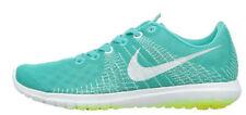 Nike Women's Flex Fury Running Sneaker Light Retro Blue Lime White Size 10.5 M