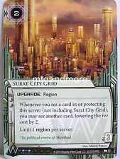 Android Netrunner LCG - 1x #057 Surat City Grid - Democracy and Dogma