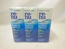 Lot of 6 Bausch & Lomb Renu Multipurpose Solution 2 oz Exp. 2021 New Sealed