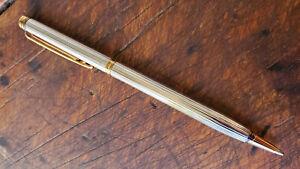 WATERMAN Gentleman Ideal Ballpoint Pen in Sterling Silver