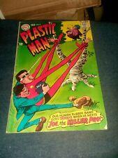 "Plastic Man #9 dc comics 1968 silver age classic issue ""joe the killer pro"""