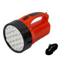 Lampada torcia 19 LED luce campeggio camping pesca batteria ricaricabile LED-706