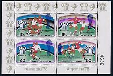 [60753] Korea 1978 World Cup Soccer Football with blue overprint MNH