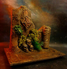 CUSTOM ONE OF A KIND 1:6 SKULLS UNIQUE RUINS DIORAMA FOR  ACTION FIGURES