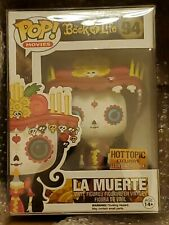 Pop! Movies The Book Of Life La Muerte #94 Hot Topic Exclusive Glows in the Dark
