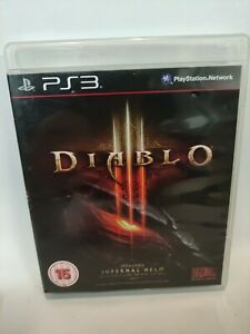 Diablo III -PS3 Playstation 3 Complete with manual PAL UK FREE DELIVERY