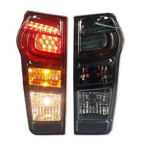 SMOKE LENS TAIL LIGHT REAR LAMP BACK FOR ISUZU D-MAX 2012-2019 DMAX BLADE