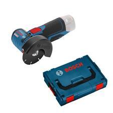 BATTERIA BOSCH-Smerigliatrice angolare GWS 10,8-76 V-EC Professional assolo incl. L-Boxx