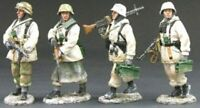 KING & COUNTRY BATTLE OF THE BULGE BBG002 FOUR PIECE GERMAN WINTER PATROL MIB