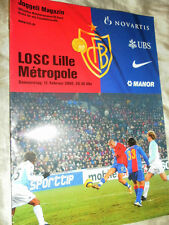 2004/5 UEFA CUP FC BASEL V LILLE
