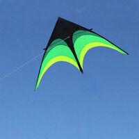 NEW 9ft Prairie Triangle Kite Outdoor Fun Kids Toy Delta Kite Single Line Kite