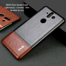 Imak Luxury Classic Business Leather Shockproof Case Cover For Nokia 8 Sirocco