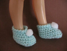shoes for doll foot 4,5 cm 1.8 inch, crochet slippers, booties #2