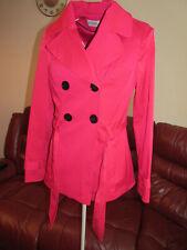 Ladies Beautiful Pink Jacket Coat by George Size 8