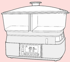 User Manual for Morphy Richards 48775 Compact Intellisteam Food Steamer