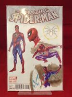 Amazing Spider-Man #1 2015 Marvel Comics Concept Variant 1:25