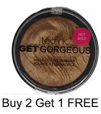 Technic Get SUPERBE 24CT or éclaircissement poudre contour visage maquillage