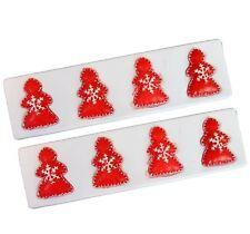 8 Pack Of Christmas XMAS Floating Light  Snow Red Tree Candle Deepawali Diwali