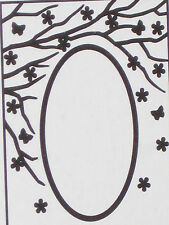 """Nellie Snellen Emboss Folders """"Oval - Spring Is In The Air"""" Efe007 For Cards"""
