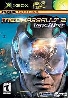 MechAssault 2: Lone Wolf Xbox game