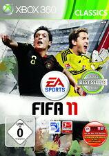 FIFA 11 -- Classics (Microsoft Xbox 360, 2011, DVD-Box)