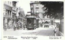 Northamptonshire Postcard - Northampton - Mercer Road Terminus - Car No.12 U639