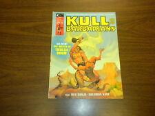 KULL AND THE BARBARIANS #2 Marvel magazine 1975 RED SONJA SOLOMON KANE