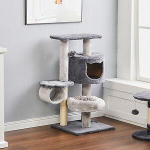 Pet Cat Tree Climbing Tower Kitten Activity Centre Scratcher Scratching Post Toy
