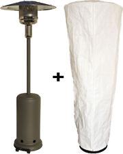 Heizpilz CLASSICO anthrazit mit Schutzhülle Gasheizer Terrassenheizer Heizer