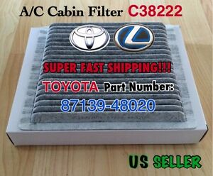 CARBONIZED CABIN FILTER For Lexus IS300&RX300 And TOYOTA 01-07 Highlander