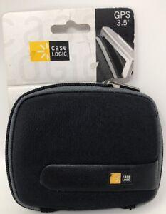 "Case Logic GPS 3.5"" Black Case"