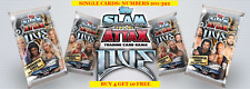 TOPPS WWE SLAM ATTAX LIVE SINGLE CARDS (2018) NUMBERS 201-392 - BUY 4 GET 10 FRE