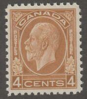 Canada 4c Medallion issue Scott #198 VF MNH