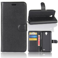 PU Leather Card Wallet Case Stand Cover For ZTE Maven 3/Prestige 2/Overture 3