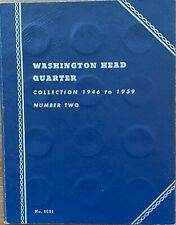 Book 2 Washington Quarters 1946-1959 Full Set of *36 P D,S Silver Quarters*