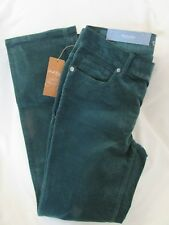 """Ladies """"Sonoma"""" Size 6P, Pine Green Color, Mid-Rise, Straight,Corduroy  MSRP $44"""