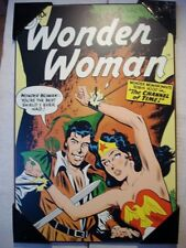 DC Comics Wooden Wall Plaque - Wonder Woman #94 - Wonder Woman meets Robin Hood