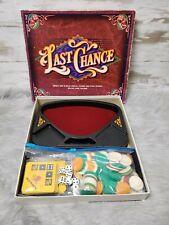 Vintage Last Chance Board Game Milton Bradley 1995