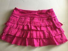 Lululemon Back on Track Skirt skort rare Paris pink ruffles sz:8
