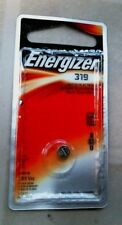 Energizer 319 Watch/Electronic Cell Battery, Lot of 4, Free Ship